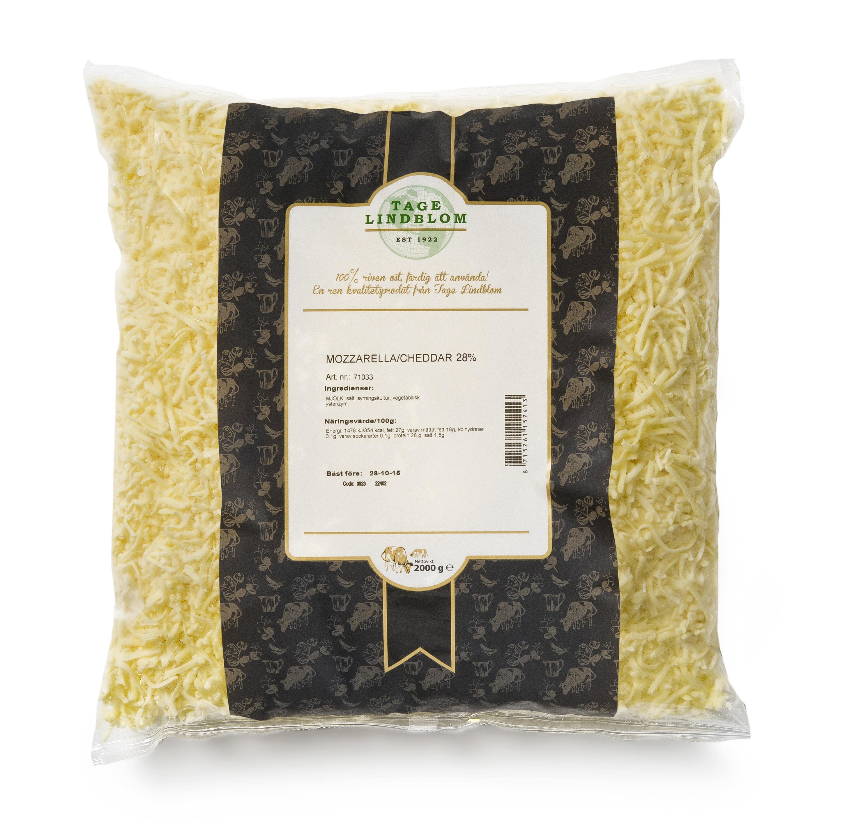 Riven Mozzarella/Cheddar 50/50 28%