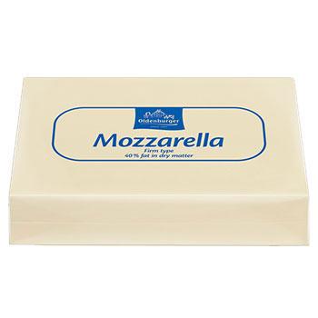 Mozzarellablock 21%